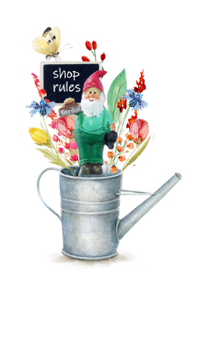 RULES OF THE SHOP LICENCE